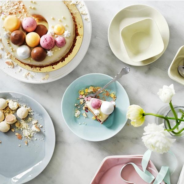 Hvordan dekke bordet til påske.