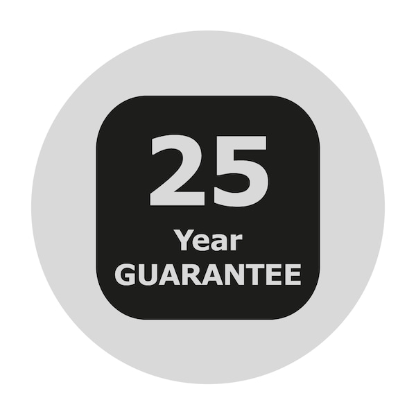 Icon for 25-year warranty