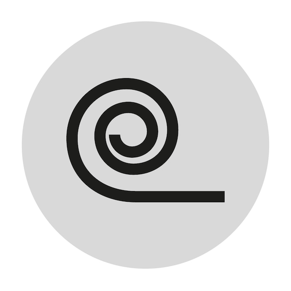 Icon for displaying roll pack mattress
