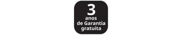 Ícone de 3 anos de garantia gratuita