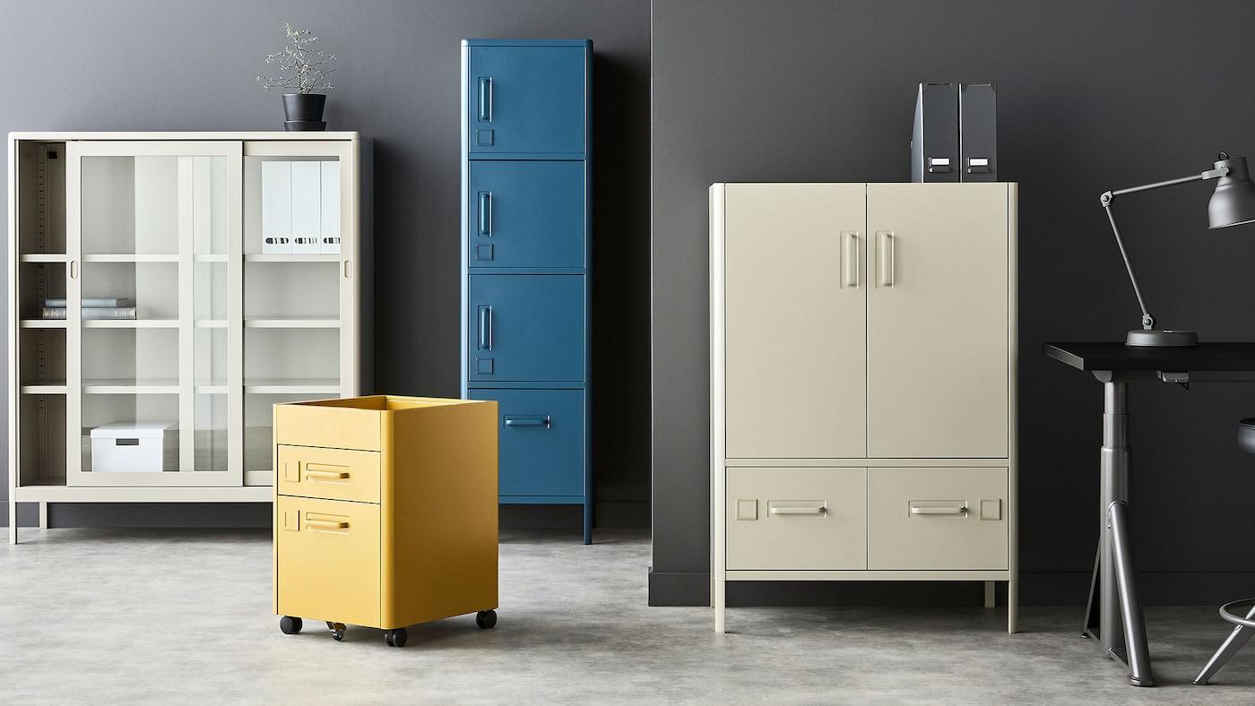 De Mobilier Ikea Bureau Rangement Meuble Et v0O8nwmN