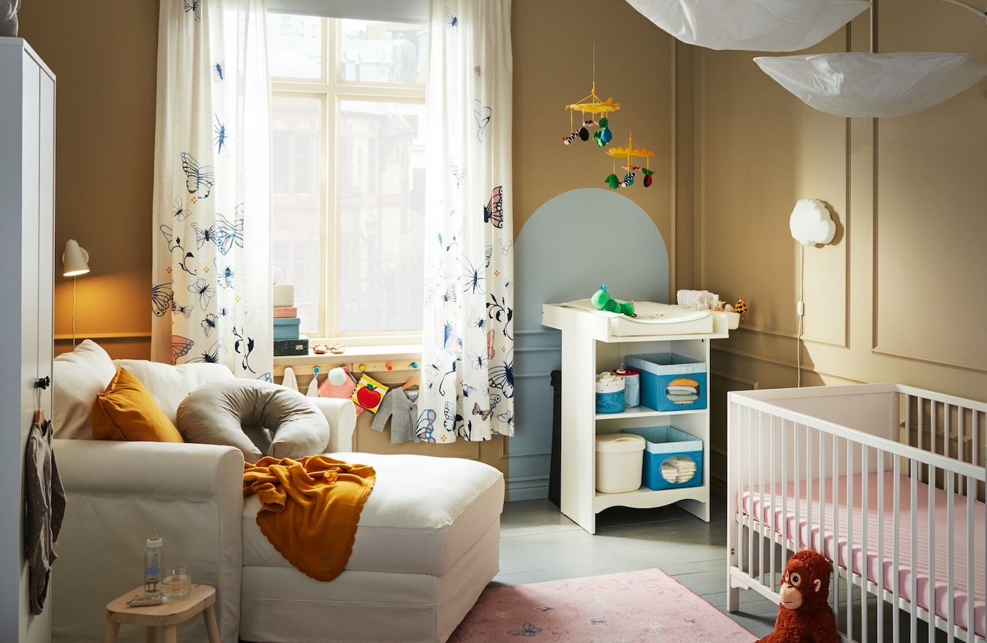 Ideas de decoración para dormitorios de bebés