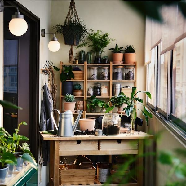 Ideas for a balcony garden extending your home.
