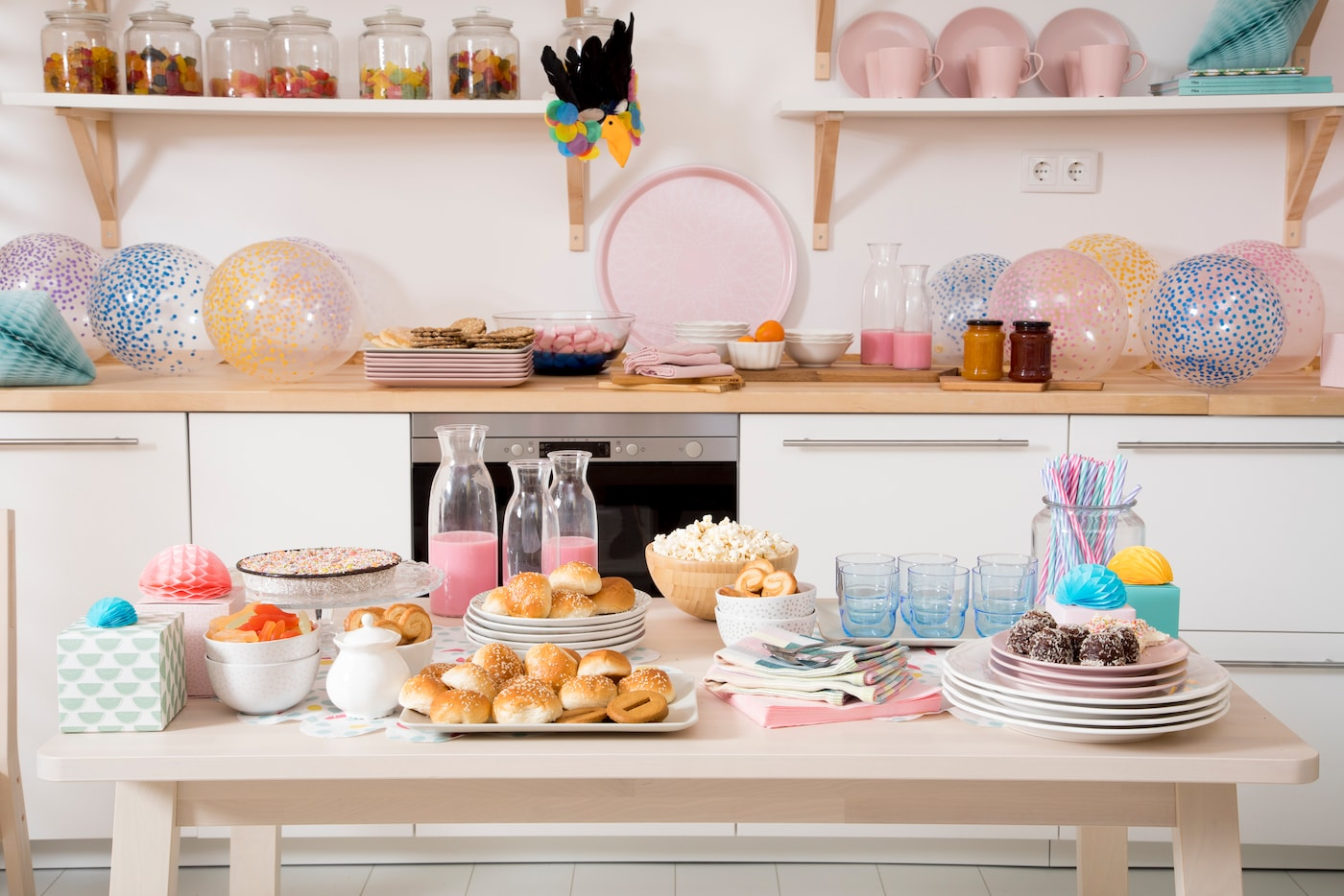 Ideas for children's birthday parties at home IKEA