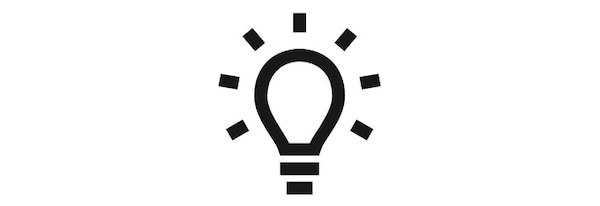 Ideas icon.