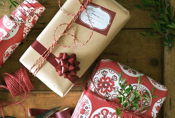 Ideas originales para envolver regalos de Navidad