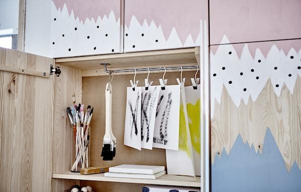 Ideas originales para personalizar el armario IVAR