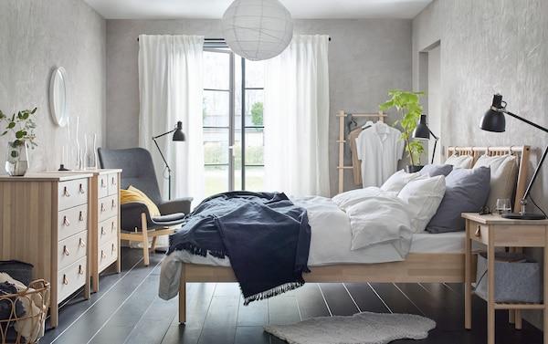 Ideas para decorar la habitación con ropa de cama en diferentes tonalidades