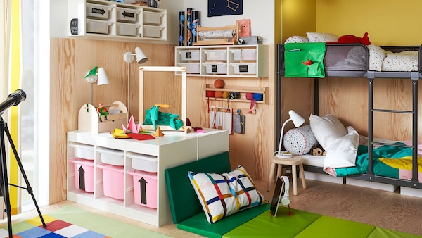Ideas, tips and inspiration for children's room.