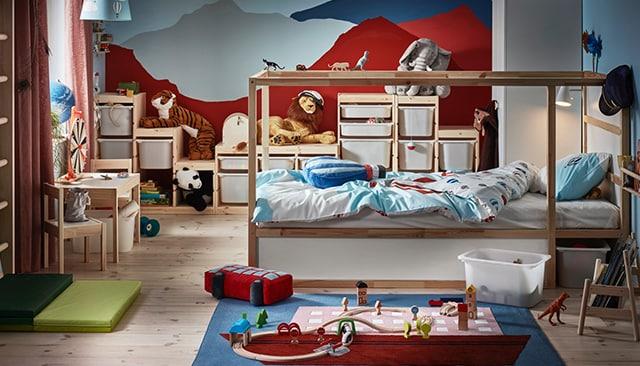 Cameretta Armadio Ponte Ikea.Lasciati Ispirare Dalle Nostre Camerette Ikea