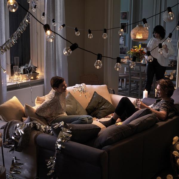 Ideeën om de festiviteiten de hele winter door te laten gaan.