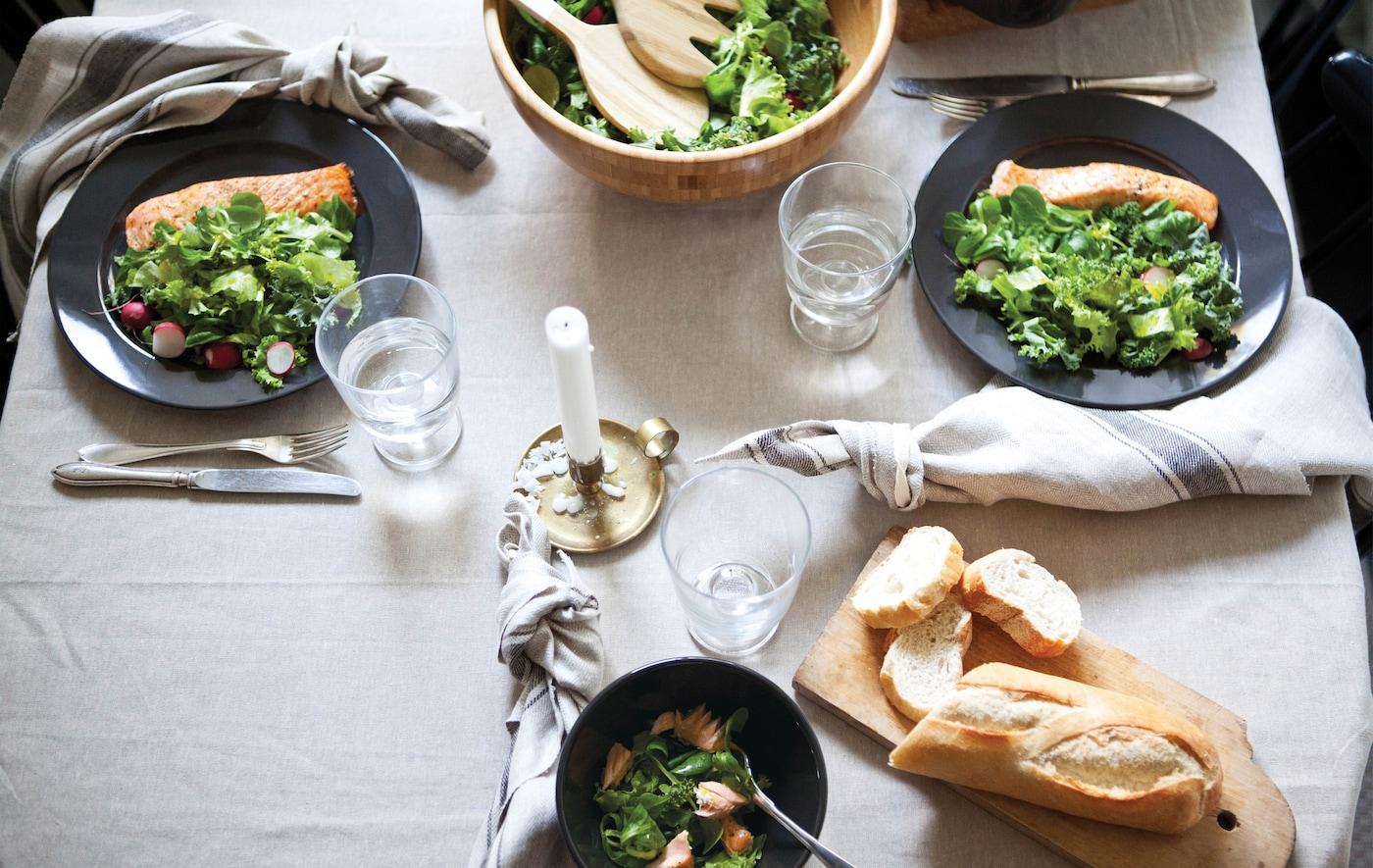 Ideen für schnelle und einfache Gerichte unter der Woche