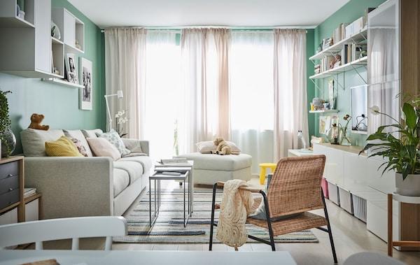 5 unterschiedliche Ideen fürs Wohnzimmer - IKEA