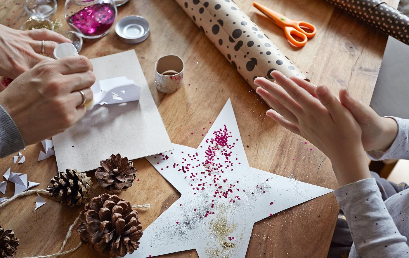 Basteln Mit Kindern Fur Weihnachten Ikea Deutschland
