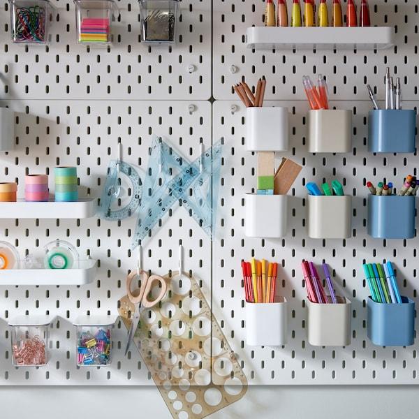 Ideer til oppbevaring og organisering av alle tingene dine.