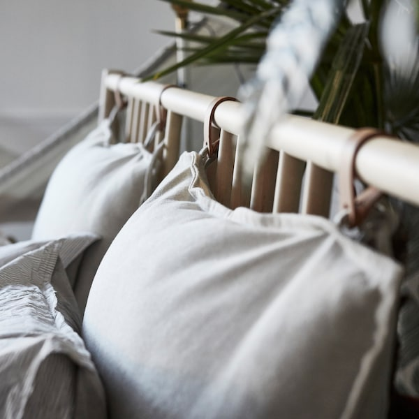 If you're looking to create a bedroom that reflects your wanderlust, look no further than the IKEA BJÖRKSNÄS bed frame.