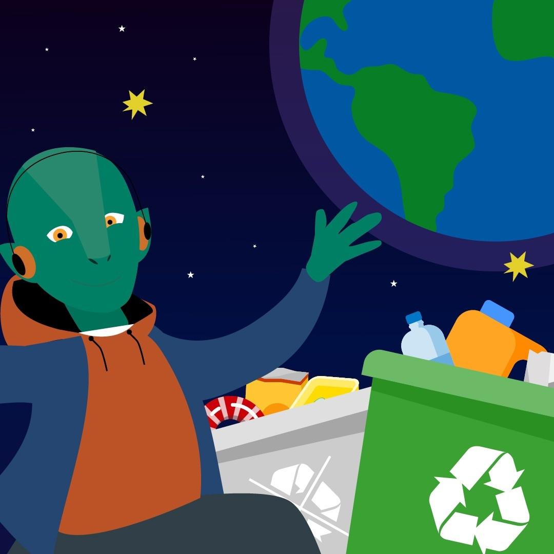 Игра, которая расскажет вам больше о сортировке отходов
