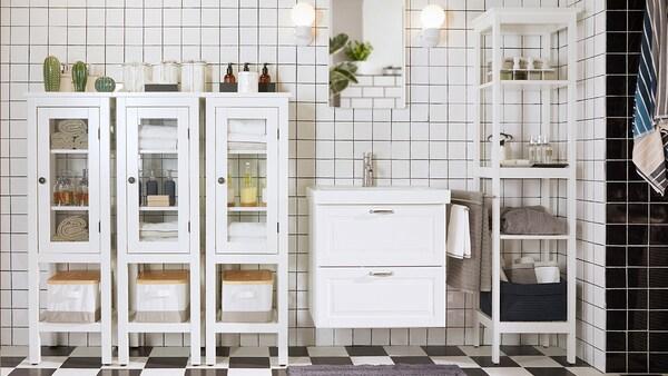 Ikea Mobili Bagno Lavandino.Lasciati Ispirare Dai Nostri Bagni Ikea