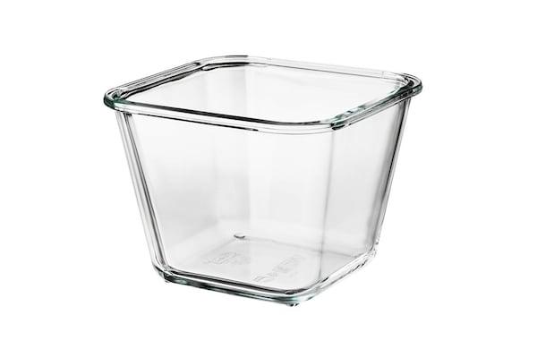 IKEA 365+ 1.2-L square glass container