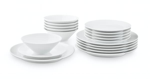 IKEA 365+ cutlery and plates