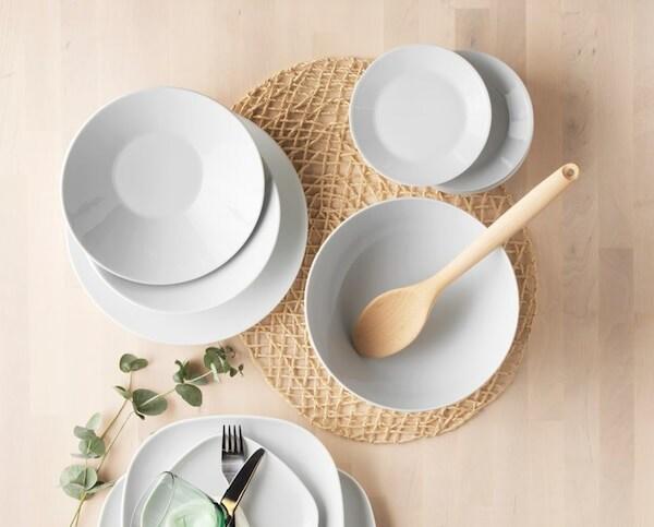 IKEA 365+ dinnerware series