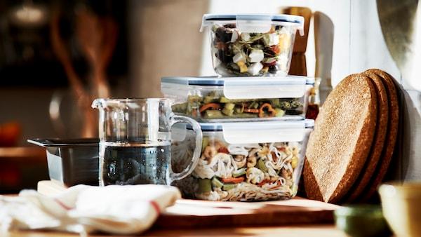 IKEA 365+ food storage.