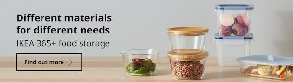 IKEA 365+ food storage series