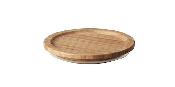 IKEA 365+ round bamboo lid