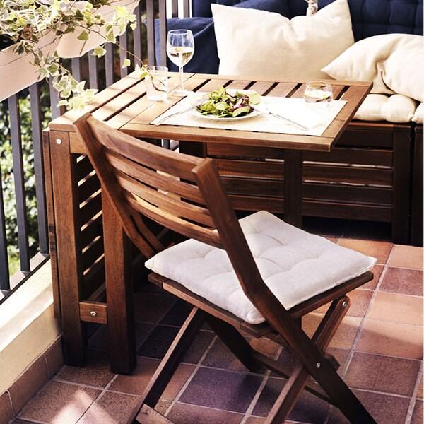 IKEA ÄPPLARÖ balkongmöbler