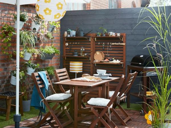 Merveilleux A Sweet Green Garden Space