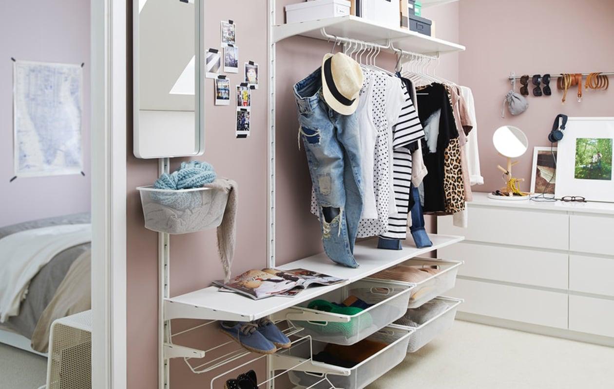 IKEA ALGOT opbergsysteem