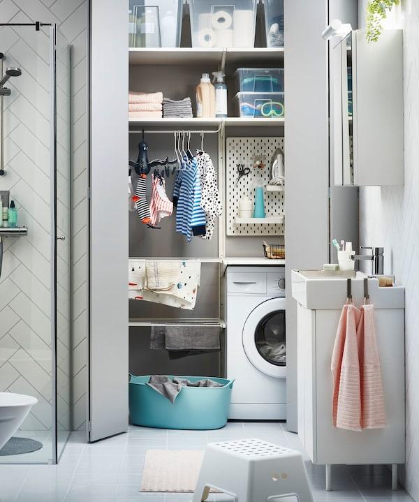 The Mini Laundry Room Ikea