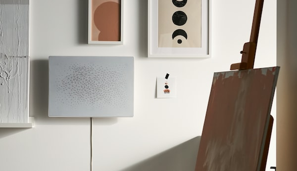 IKEA and Sonos Welcome the SYMFONISK Picture Frame WiFi Speaker