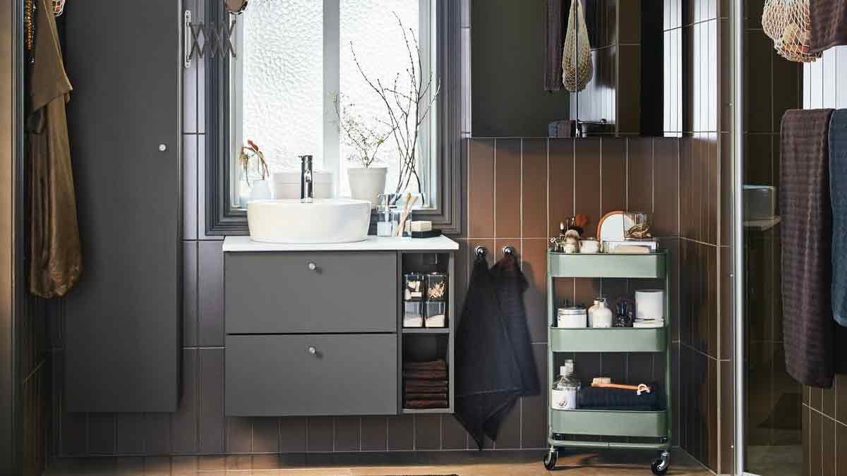 Badezimmeraufbewahrung + Badezimmerschränke IKEA Österreich