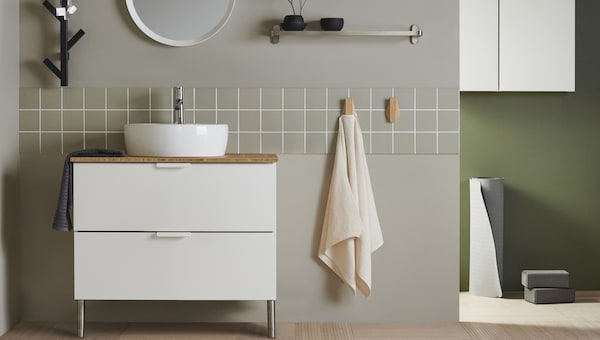 Badmöbel & Badezimmer-Aufbewahrung günstig kaufen - IKEA