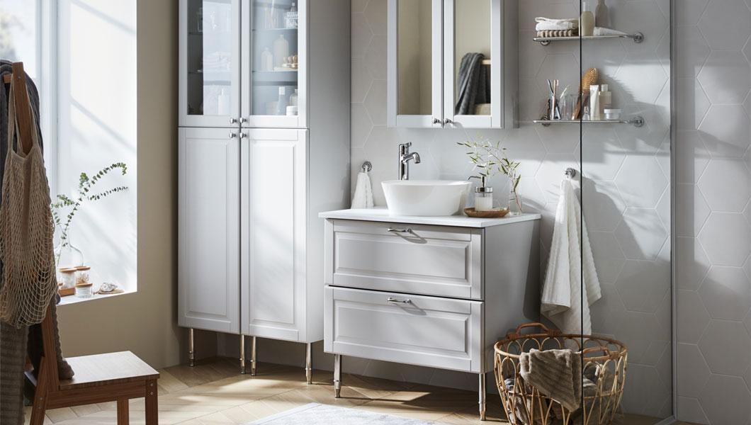 IKEA Badezimmer GODMORGON Serie Waschbecken