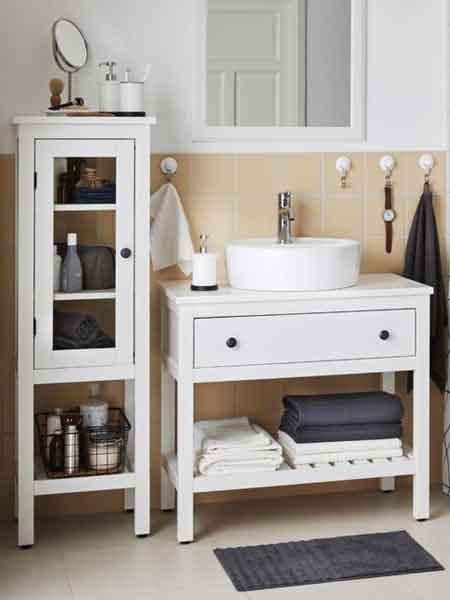IKEA Badezimmer HEMNES Serie