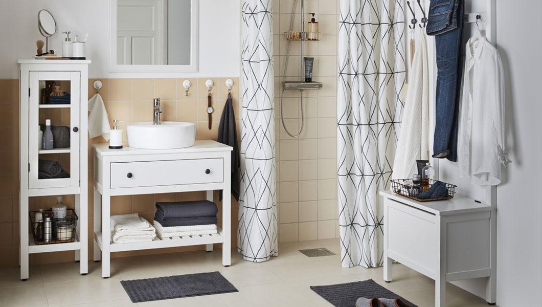 Home, Furniture & DIY IKEA SILVERAN Banktruhe in weiß ...