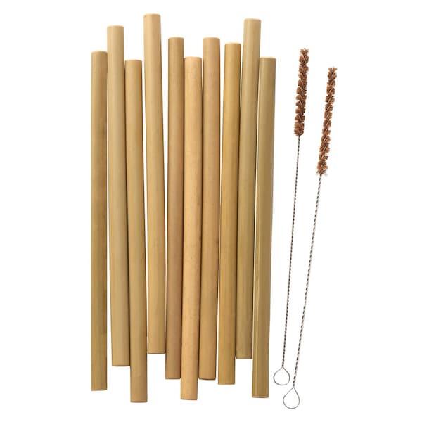 IKEA bambupillit voidaan puhdistaa kätevästi mukana tulevilla puhdistusharjoilla.
