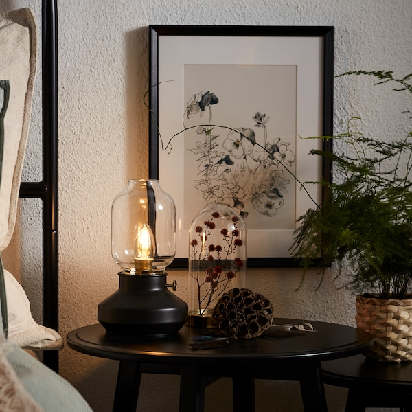 IKEA bedroom furnishings, Table lamps, bedroom lighting
