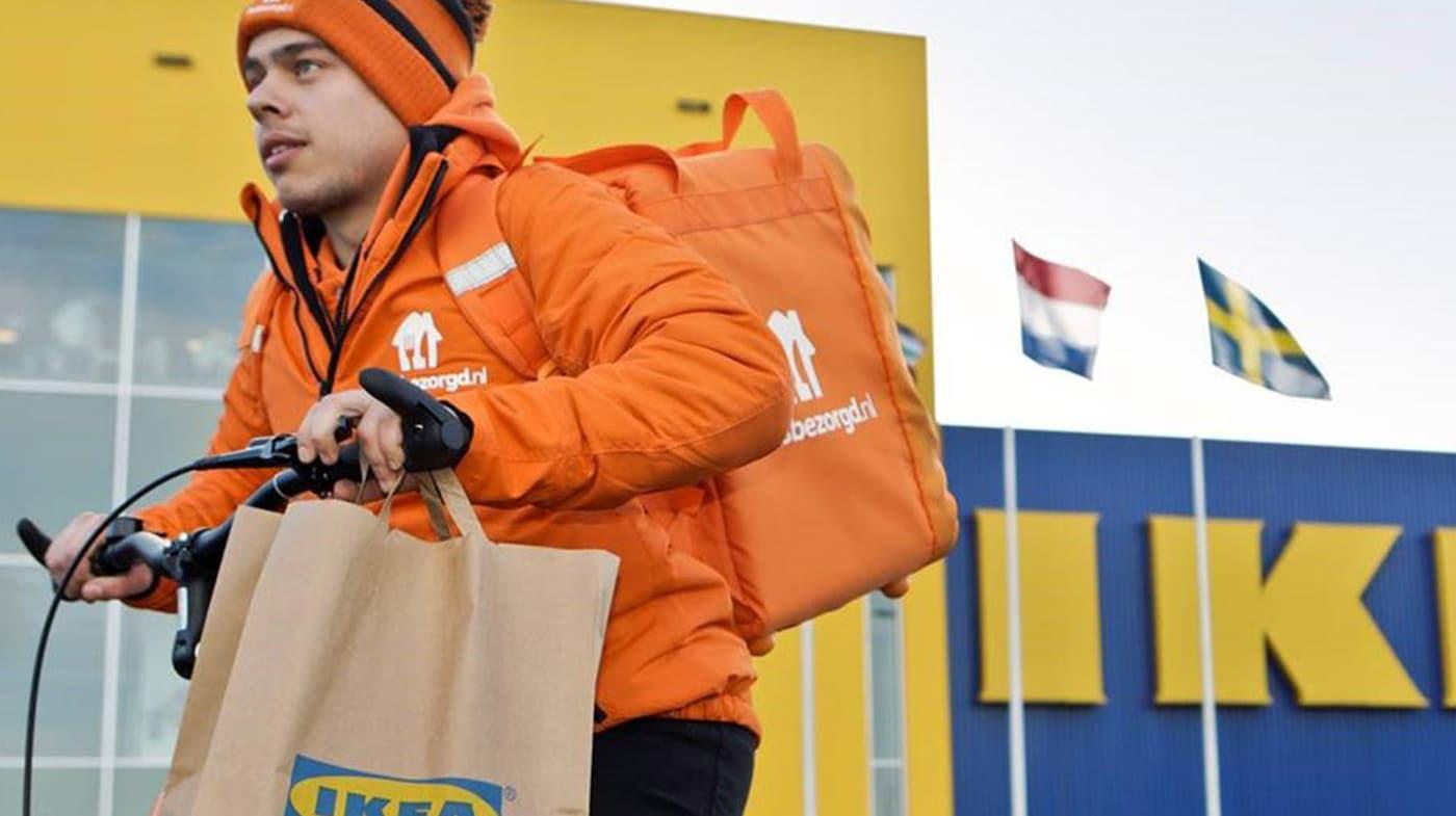 IKEA bezorging zweedse balletjes