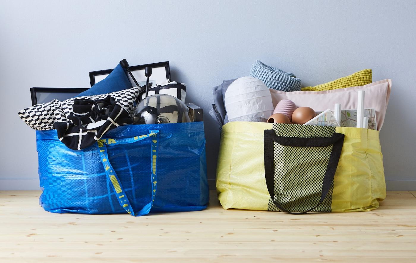 IKEA Bietet Wohnzimmerdekor Für Wenig Geld Und Es Passt Wunderbar In Eine  YPPERLIG Oder FRAKTA Tasche
