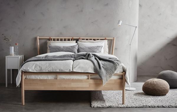 IKEA BJORKSNAS bedframe
