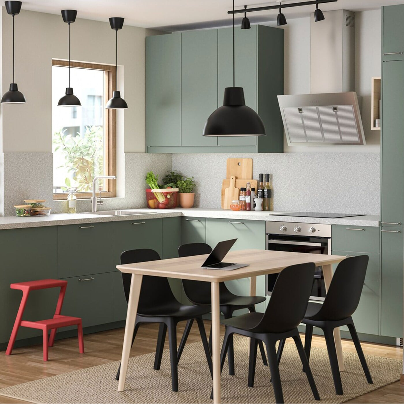 A Green And Environmentally Conscious Kitchen Ikea