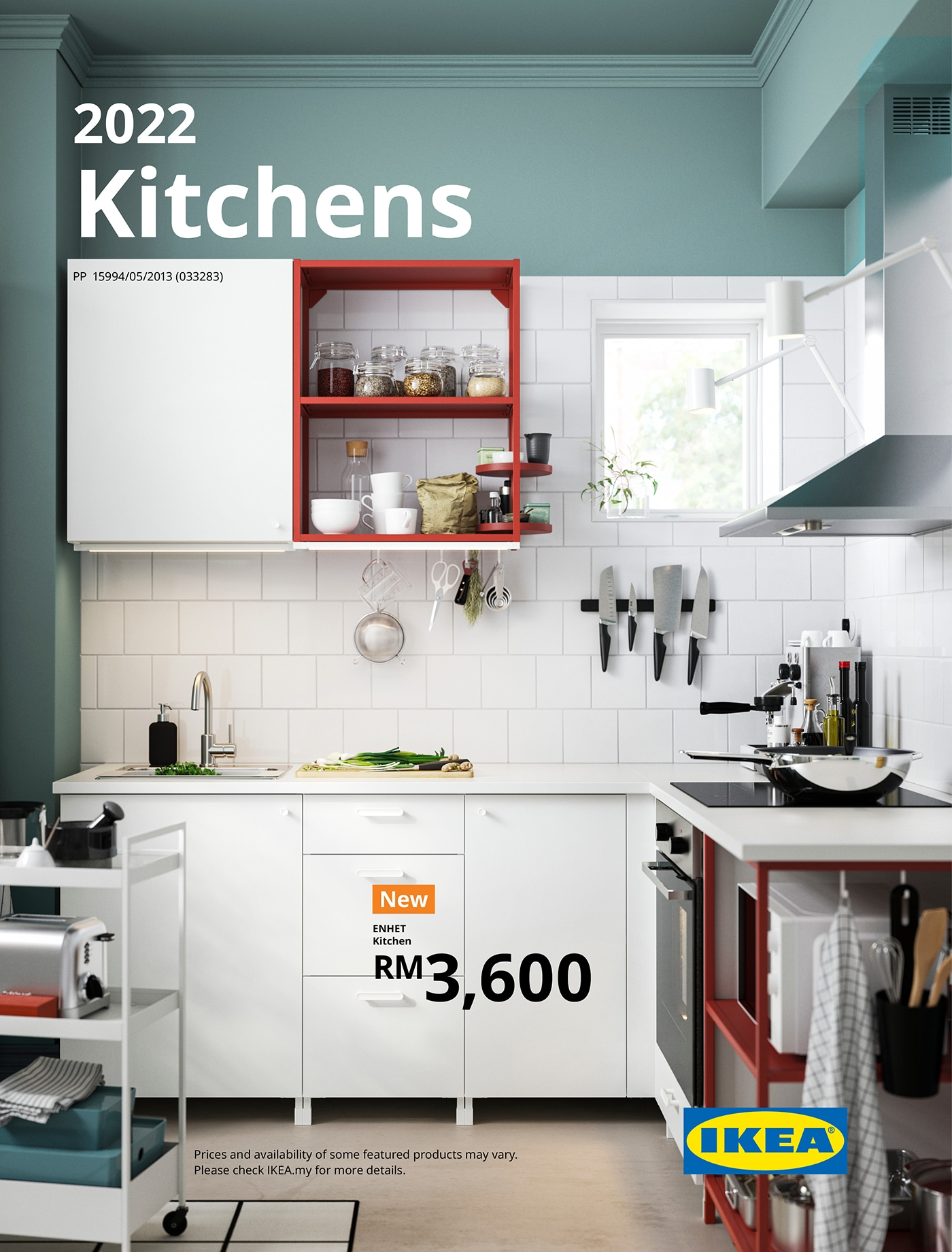 IKEA Brochure 2022 front cover with new solutions