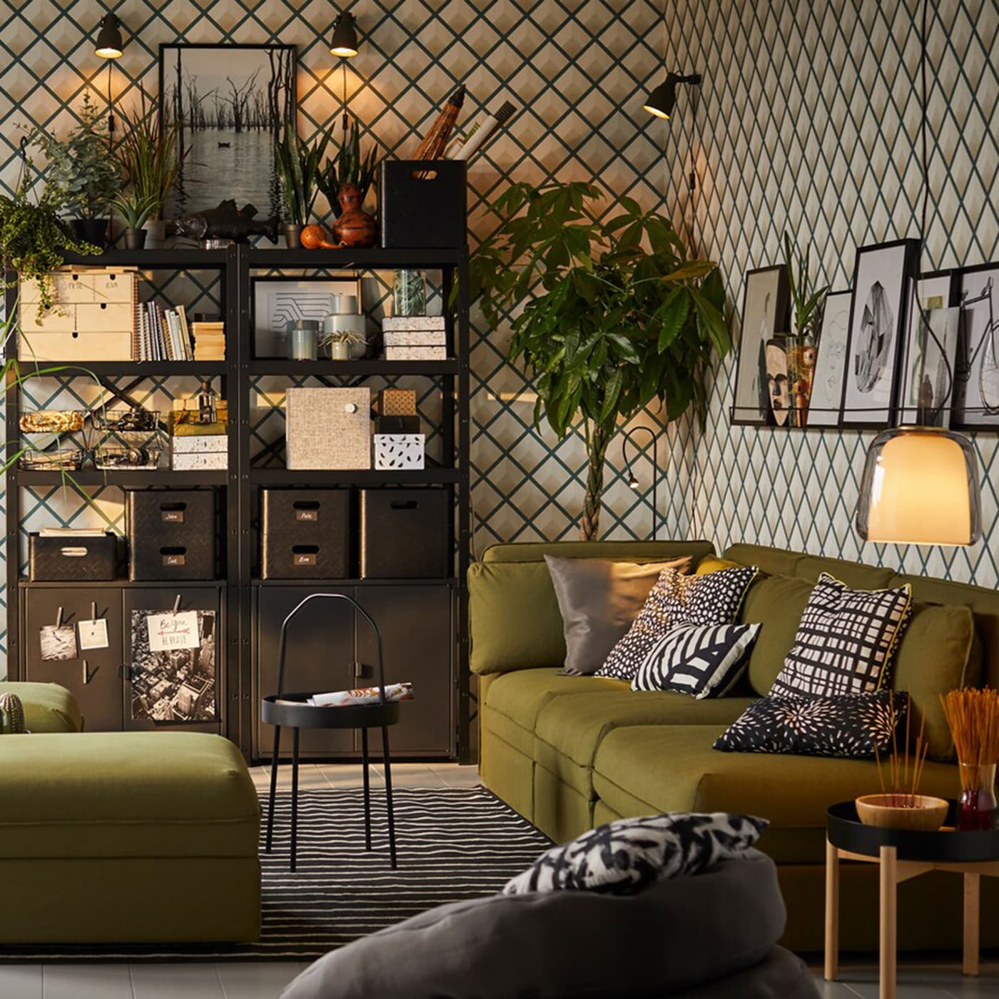 Libreria A Muro Moderna Ikea furnishing ideas & inspiration for your living room - ikea