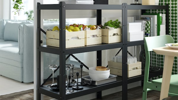 IKEA BROR system, the strongest, the sturdiest and most practical industrial shelving
