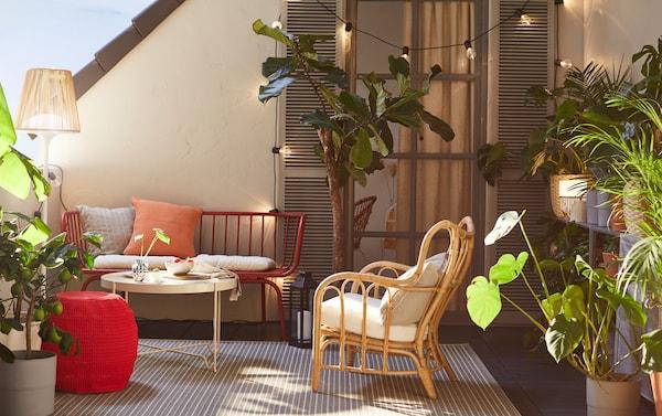 gr ne oase inmitten der stadt ikea. Black Bedroom Furniture Sets. Home Design Ideas