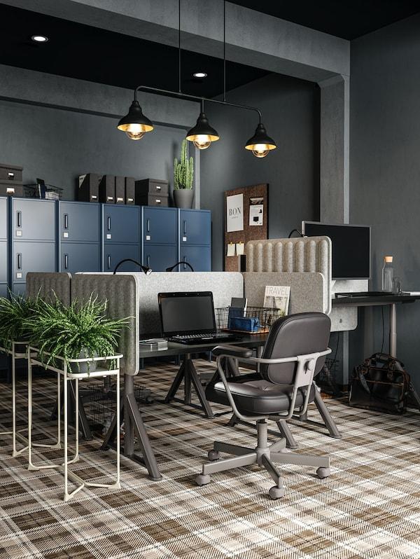 IKEA Büromöbel als Inspirationsquelle