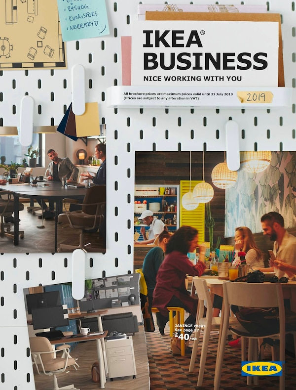 IKEA Business 2019 brochure cover
